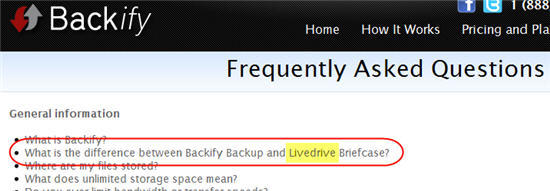 is-backify-related-to-livedrive