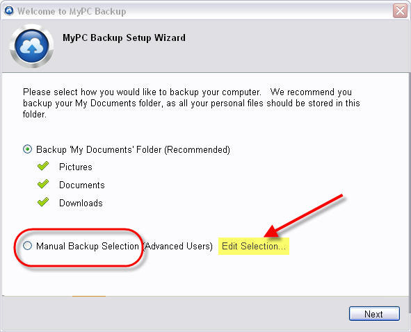 mypcbackup-default-backup-selections